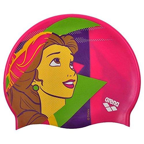 arena DM Jr Cuffia da Nuoto, Multicolore (Disney Belle), Taglia Unica