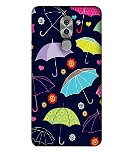 Fabcase dry clothes protection rain umberella Designer Back Case Cover for Huawei Honor 6X