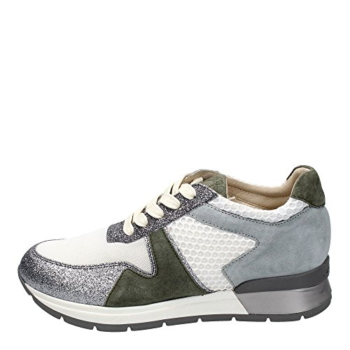 Janet Sport 37855 Sneakers Donna Glitter Bianco Bianco 38