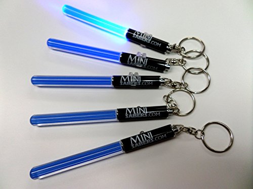 stab Schlüsselbund Geschenke Pack Star Wars Clubs Wanderungen Nacht Grillen Light Saber Lichschwert LED dance Tanzen Sabre yoda (Sabre Led-licht)