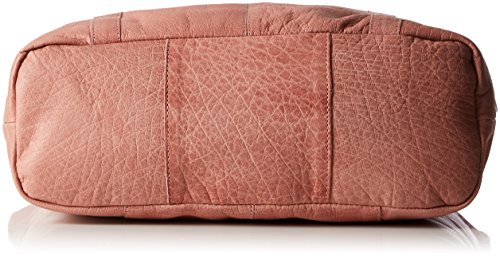 PIECES Damen Pcjacky Leather Shopper Schultertasche, 13 x 42 x 34 cm Pink (Ash Rose)