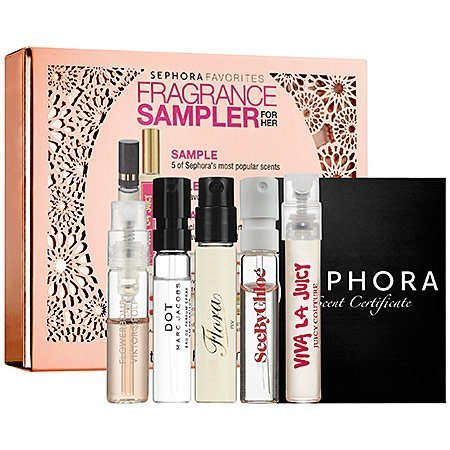 MARC JACOBS Sephora Favorites Fragrance Rollerball Sampler For Her, Limited Edition