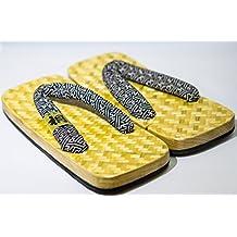 Zori Setta: zapatos de las sandalias de los hombres auténtico histórico Takeami trenzada de bambú 26cm Naturaleza