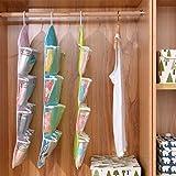 Kaitoshiratori 16 Taschen löschen über Tür-hängende Beutel Aufhänger Lagerung Tidy Organizer Für Privatanwender Badezimmer Wohnzimmer Haushalt Kunterbunt