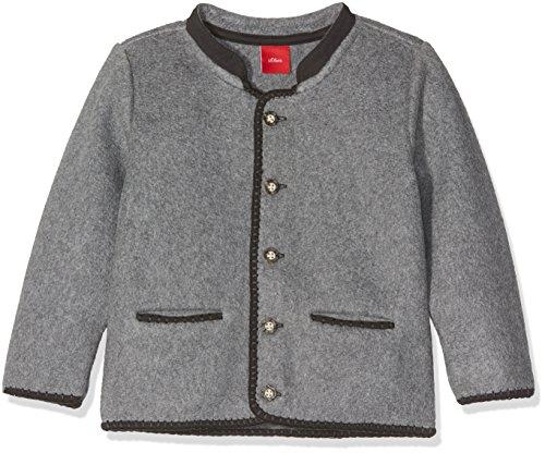 s.Oliver Baby-Jungen Sweatshirt 59.707.43.7960, Grau (Grey Melange 9730), 92
