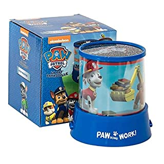Chase Paw Patrol Star Master Star Master Projector Changing Night Light Blue