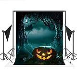 Telón de Fondo de Halloween con diseño de Dibujos Animados