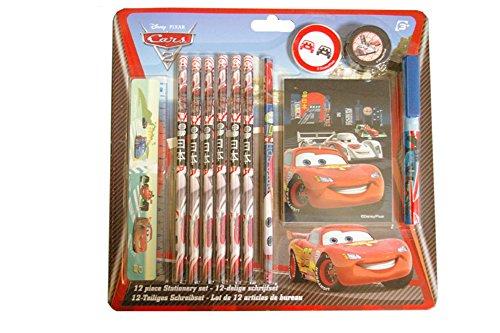 24 teiliges Set Disney Cars 2 Packungen Schreibset als Mitgebsel -