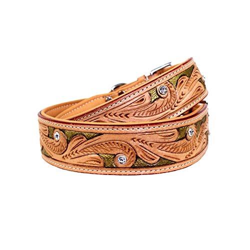 MICHUR Goldeneye, Hundehalsband, Lederhalsband - 2