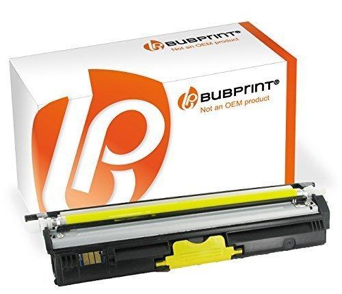Bubprint Toner kompatibel für Konica Minolta A0V306H für Magicolor 1600W 1650EN 1680MF 1690MF 2500 Seiten Yellow Gelb (Toner Gelb Konica)