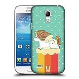 Head Case Designs Sommer Phantastische Einhörner 2 Chubby Ruckseite Hülle für Samsung Galaxy S4 mini I9190