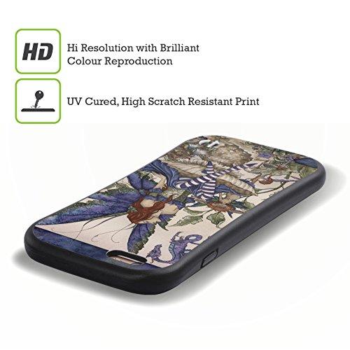 Ufficiale Amy Brown LIntroduzione Folletti Case Ibrida per Apple iPhone 7 / iPhone 8 Il Fondo Del Giardino