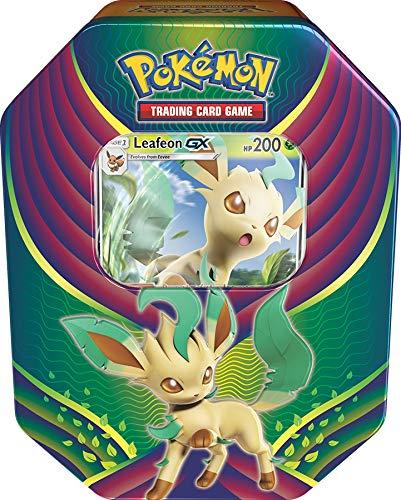 Pokemon TCG: Evolution Celebration Tin - Leafeon GX (Leafeon Pokemon Ex)