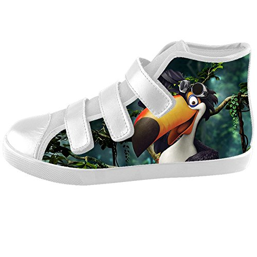 Dalliy Toucan Bird Cartoon Kids Canvas shoes Schuhe Footwear Sneakers shoes Schuhe E
