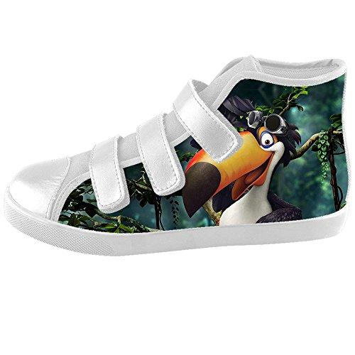 Dalliy Toucan Bird Cartoon Kids Canvas shoes Schuhe Footwear Sneakers shoes Schuhe E