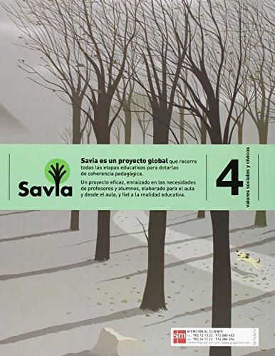 Valores sociales y cívicos. 4 Primaria. Savia - 9788467575637