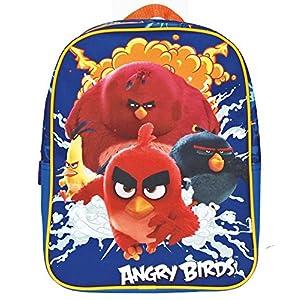 51eE9jJOrwL. SS300  - Angry Birds Mochila Infantil, BLU Elettrico (Azul) - 13617