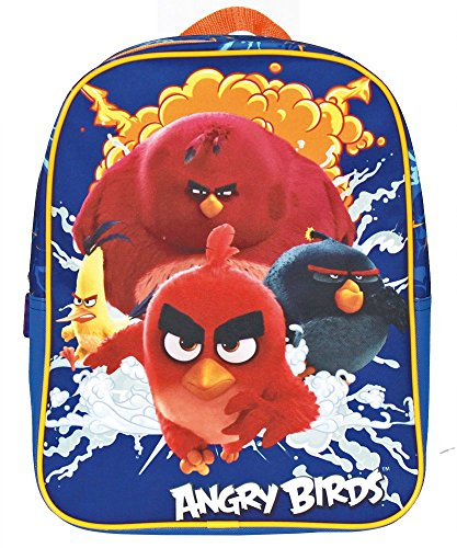 Angry Birds Sac à dos enfants, Blu elettrico (Bleu) -...