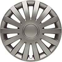 "Albrecht automotive 09745 Tapacubos Wind 15"" pulgadas, 4 Unidades, Gris"