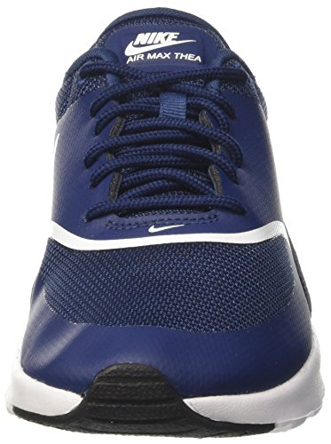 Nike Damen Wmns Air Max Thea Low-Top Blau (Navy/white Black 419)