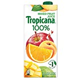 Tropicana Mixed Fruit 100% Juice, 1 ltr