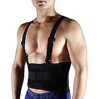 Elastische Rückenbandage Bauchweggürtel Lendenwirbelstütze Haltungskorrekturhilfe Hilft bei Rückenschmerzen, Skolioseproblemen... preisvergleich bei billige-tabletten.eu