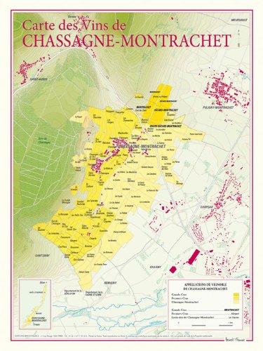 Carte des vins de Chassagne-Montrachet
