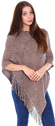 Simplicity Warm knitted Poncho Cape Sweater Top Shawl Wrap Scarf