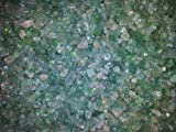 100x Quarz Kristall Fisch Tank/Tisch Konfetti/Kerze Crackle Chips grün