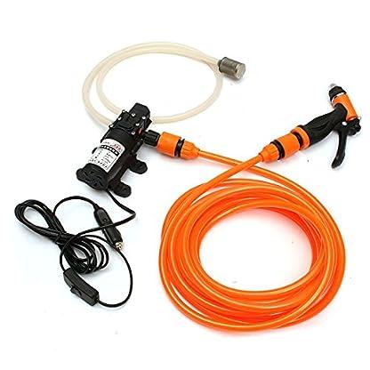 JenNiFer-Tragbare-Hochdruckreiniger-Kraftpumpe-selbstansaugende-Autowaschpistole-12-V-36-W