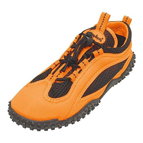 GALLUX - Aquaschuhe Strandschuhe Schwimmschuhe Aqua Schuhe Neonfarben Orange