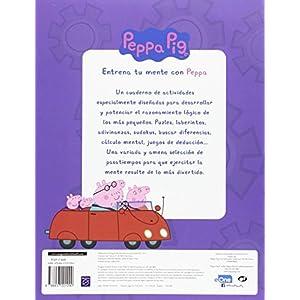 Entrena Tu Mente Con Peppa. 5 Años. Cuaderno De Actividades (PEPPA PIG)