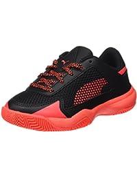 big sale dd08e ec8df Puma Evospeed Indoor Nf 5 Jr, Chaussures de Fitness Mixte Enfant,  Blanc Rouge