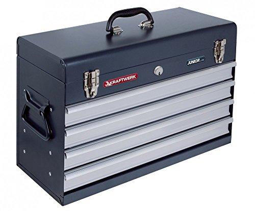 Kraftwerk 1046E Werkzeugkoffer mit 4 Schubladen