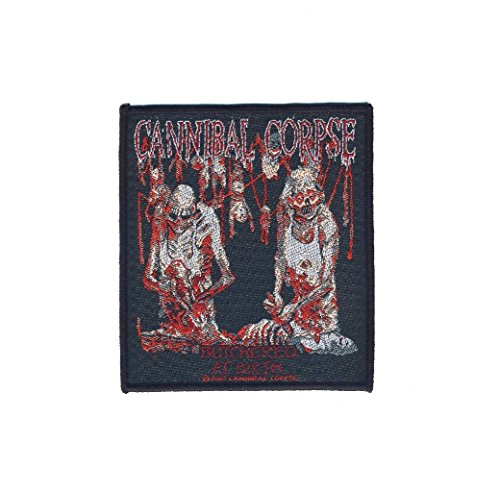 CANNIBAL CORPSE - Butchered At Birth - Aufnäher/Patch (Cannibal Corpse-patches)