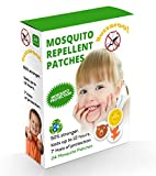 #9: Buzz Off Mosquito Patches: Buzz OFF! NextGen Mosquito Repellant Patches, Pack of 24, Premium Quality Eco friendly Mosquito and Insect Repellant Citronella Patches