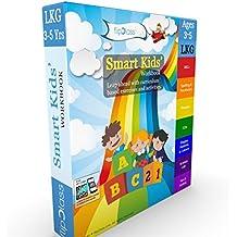 Smart Kids Worksheets (Bundle) for LKG ( KG 1 ) and Montessori (3-5 yrs)- Set of 7 Workbooks
