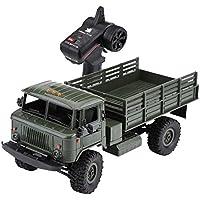 The perseids B24 1:16 RC Camión Militar Off-Road Racing Vehículo de Control Remoto Juguetes de Regalo para Niños Coleccionistas (Verde)