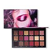 Paleta de sombras de ojos profesional, 18 colores Paleta de maquillaje...