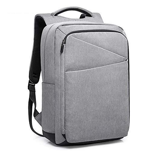 Laptop-Rucksack, USB-Ladeanschluss Rucksack wasserdicht verschleißfesten Oxford-Tuch Reiserucksack Anti-Diebstahl-College-Rucksack -