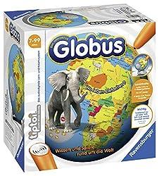 Ravensburger tiptoi Der interaktive Globus Spiel, ab 7 Jahren, Wissen und Spiele rund um die Welt