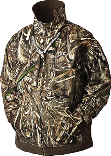 Drake Wasservögel Wasservögel Flece gefüttert Pullover, Herren, Shadow Grass Blades (Jagd Drake Kleidung)