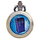 Die besten Freunde Tardis - Dr Who Blue TARDIS Bronze Effekt Retro/Vintage Fall Bewertungen