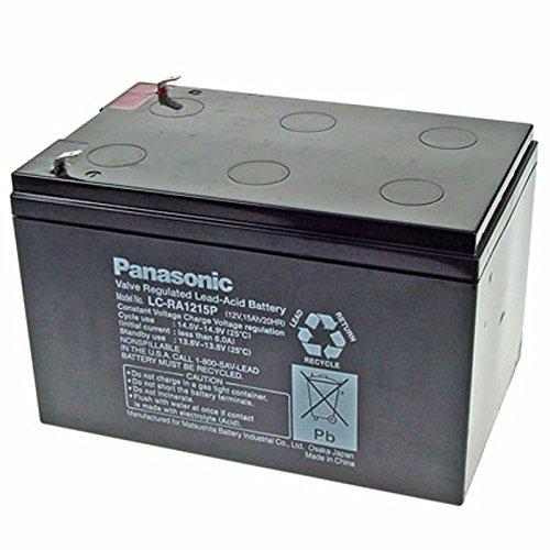 Panasonic LC-RA1215P1 Akku 12 Volt 15Ah, Steckkontakte