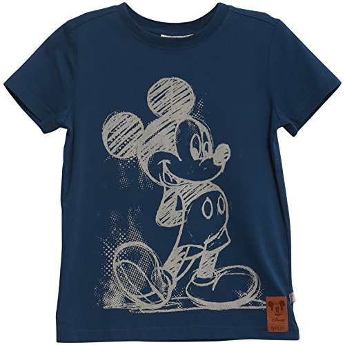 Wheat Jungen T-Shirt Mickey Pencil, Blau (Dark Indigo 4009), 110 (Herstellergröße: 5y) Preisvergleich