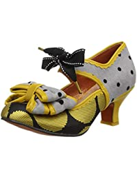 Poetic Licence by Irregular Choice Apple Spice, Mary Janes Femme