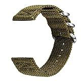 V-MORO Samsung Gear S3 Classic orologio Band/Gear S3 Frontier,22 mm Premium in tessuto di nylon cinturino di ricambio cinturino Band per Samsung Gear S3 Classic S3 Frontier sport Smartwatch