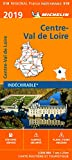 Carte Centre-Val de Loire Michelin 2019...