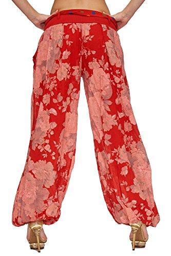 Zarlena - Pantalon - Femme Rouge - Rouge