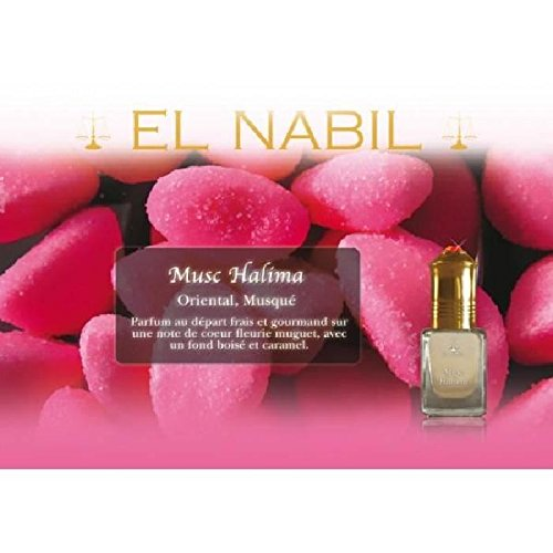 EL NABIL - MUSC HALIMA 5ml - LOT DE 6